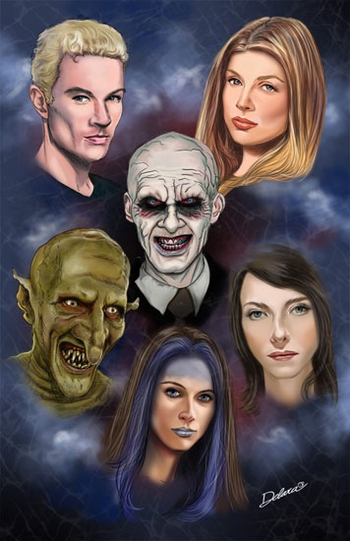 <i>BuffyFest</i> Chicago Comic Con VIP Exclusive Lithograph by Cris Delara