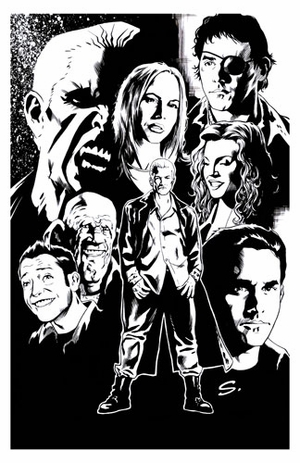 BuffyFest @ New Orleans Comic Con Lithograph Inked Variant