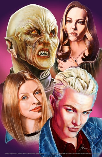<i>BuffyFest</i> Philadelphia Comic Con VIP Exclusive Lithograph by Cory Smith