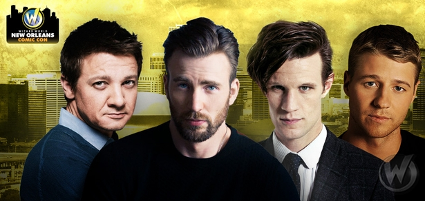 �Captain America� Stars Including Chris Evans,  �Doctor Who� Standouts Featuring Matt Smith Among Top Celebrities Scheduled To Attend Wizard World Comic Con New Orleans, January 8-10