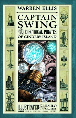 CAPTAIN SWING #1 VIP Exclusive!
