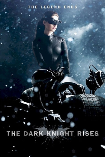 <i>Catwoman: Dark Knight Rises</i> Movie Poster