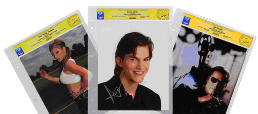 CGC CELEBRITY SIGNATURE SERIES FOR AUTOGRAPHED PHOTOS