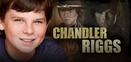 Chandler Riggs, <i>Carl Grimes</i>, �The Walking Dead,� Coming to