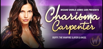 Charisma Carpenter, <i>Cordelia Chase</i>, from �Buffy� & �Angel� Joins the Wizard World Comic Con Tour!