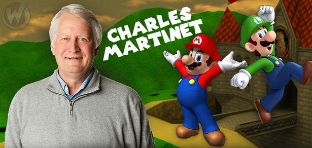 Charles Martinet, <i>Mario</i>, �Super Mario Bros,� Coming to Atlanta!