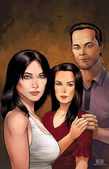 <i>Charmed</i> Philadelphia Comic Con Wizard World VIP Exclusive Lithograph by Mike Miller