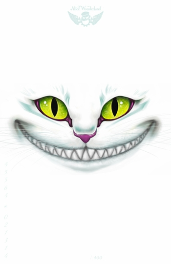 <i>Cheshire Cat</i> Minneapolis Comic Con Exclusive Lithograph by Alice of Wonderland Entertainment
