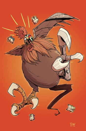 <i>Chew</i> Wizard World Comic Con VIP Exclusive Lithograph by Rob Guillory