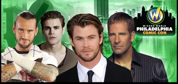 Chris Hemsworth, William Shatner, Stan Lee, WWE� Superstar CM Punk� Top Stellar 2012 Wizard World Philadelphia Comic Con Lineup!