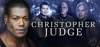 Christopher Judge, <i>Teal�c</i>, �Stargate SG-1,� Coming to Minneapolis Comic Con!