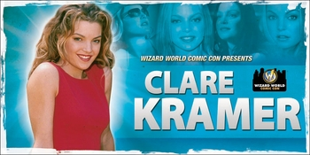 Clare Kramer, <i>Glory</i> from �Buffy� Coming to Philadelphia Comic Con!