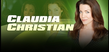 Claudia Christian, <i>Commander Susan Ivanova</i> from �Babylon 5,� On the Wizard World Comic Con Tour!