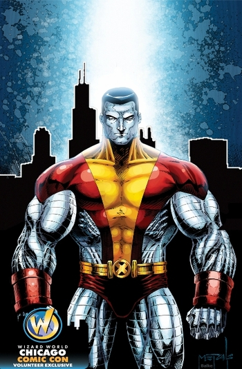 <i>Colossus</i> Chicago Comic Con Volunteer Exclusive Lithograph by Jeff Balke