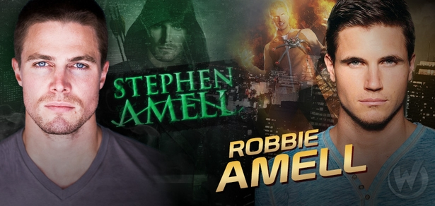 Stephen Amell & Robbie Amell Added To Wizard World Comic Con