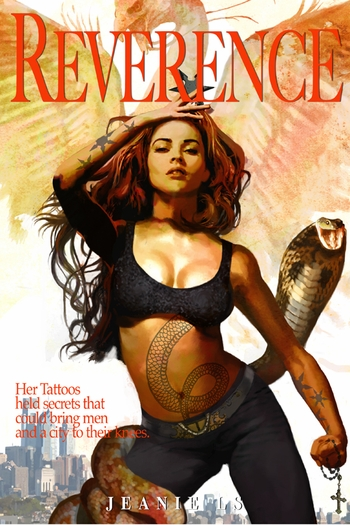 <i>Cover Art for Reverence Graphic Novel</i> Philadelphia Comic Con Exclusive Lithograph by Jeanie LS (Cover Art by Arthur Suydam)