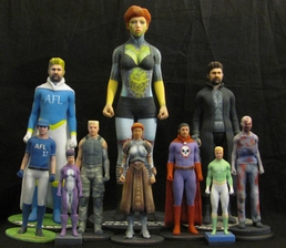 Create A Character With Action Figure Labs!