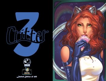 <i>Critter #3</i> Wizard World Chicago Exclusive cover by Nei Ruffino