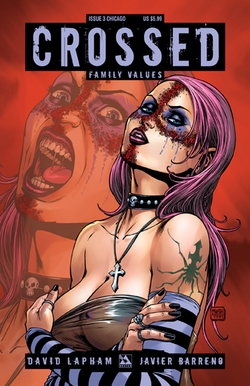 Crossed: Family Values #3 Chicago Comic Con Exclusive