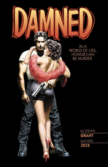 <i>Damned</i> Wizard World Comic Con VIP Exclusive Lithograph by Mike Zeck