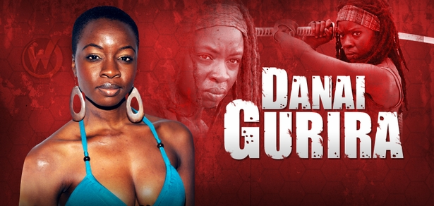 Danai Gurira, <i>Michonne</i>, �The Walking Dead,� Joins the Wizard World Comic Con Tour!