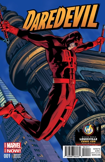 <i>Daredevil #1</i> Louisville Comic Con Exclusive Variant Cover by Michael Golden