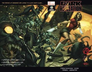 Dark Revelations #0 Wizard World Anaheim Comic Con Exclusive Preview Wrap Around Variant Cover by Koi Turnbull & Tony Washington