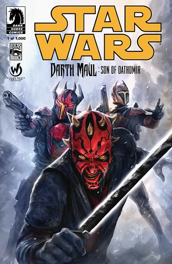 <b><i>Darth Maul: Son of Dathomir #1</i> Atlanta Comic Con Exclusive Comic by Chris Scalf</b>