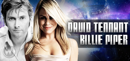David Tennant And Billie Piper To Appear Together @ Wizard World Comic Con Philadelphia