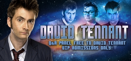 Whovians Rejoice! David Tennant To Appear At Inaugural Wizard World Comic Con Raleigh, March 14-15