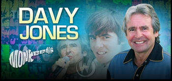 Davy Jones, <i>THE MONKEES</i>, Joins the Wizard World Tour!