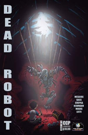 Dead Robot #1 New Orleans Wizard World Exclusive