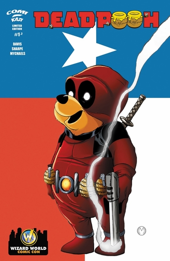 <i>Deadpooh #2</i> Wizard World Comic Con Exclusive Variant Cover by Marat Mychaels