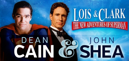 Dean Cain, �Clark Kent/Superman� & John Shea, �Lex Luthor,� <i>Lois & Clark: The New Adventures of Superman</i>, Coming to St. Louis Comic Con!