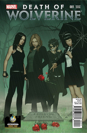 <i>Death of Wolverine #1</i> Richmond Comic Con VIP Exclusive Variant Cover by John Tyler Christopher