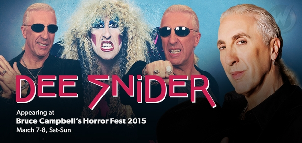 Dee Snider, �TWISTED SISTER,� Joins Bruce Campbell�s Horror Fest