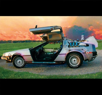 �DeLorean Time Machine�