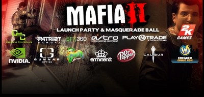 Demos, Giveaways, �Mafia� Themed Masquerade Ball Highlight Official Chicago Comic Con, SFX360 �Mafia II�� Launch Party