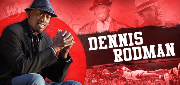 Dennis Rodman, <i>Chicago Bulls</i>, BASKETBALL HALL OF FAMER, Coming to Fort Lauderdale!