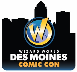 Des Moines Comic Con 2015 Wizard World Convention 1-Day Admission June 12-13-14, 2015