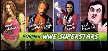 Diamond Dallas Page, Amy Dumas, Paul Bearer & Jimmy Hart Meet & Greet @ Philadelphia Comic Con 2012!