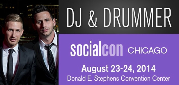 DJ and Drummer Coming to socialcon CHICAGO