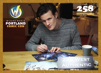 Doctor Who�s Matt Smith 258 West Authentic Promo Card