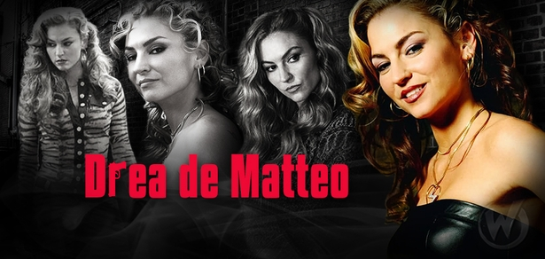 Drea de Matteo, <i>Wendy Teller</i>, �Sons of Anarchy,� Coming to Cleveland & Fan Fest Chicago!