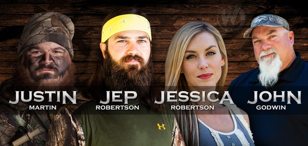 Jep Robertson, Jessica Robertson, Justin Martin & John Godwin, �Duck Dynasty,� Coming to New Orleans Comic Con!