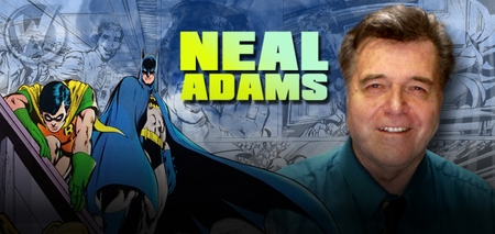 <i>EISNER AWARD HALL OF FAMER</i> Neal Adams Coming to Chicago, Pittsburgh, Fort Lauderdale, Tulsa & Reno!