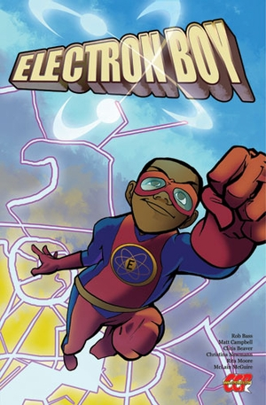 Electron Boy New Orleans Comic Con Exclusive Comic by CCP Comics