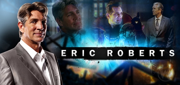 ACADEMY AWARD NOMINEE Eric Roberts, RUNAWAY TRAIN, Joins the Wizard World Comic Con Tour!