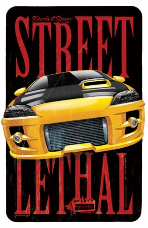 Eric Tscherne: Street Lethal Limited Edition Adult Collectibles Print - Chicago Comic Con Exclusive