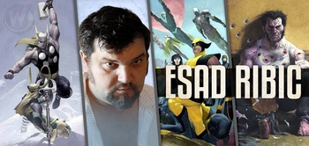 Esad Ribic, <i>Avengers vs. X-Men</i>, Coming to Chicago Comic Con!